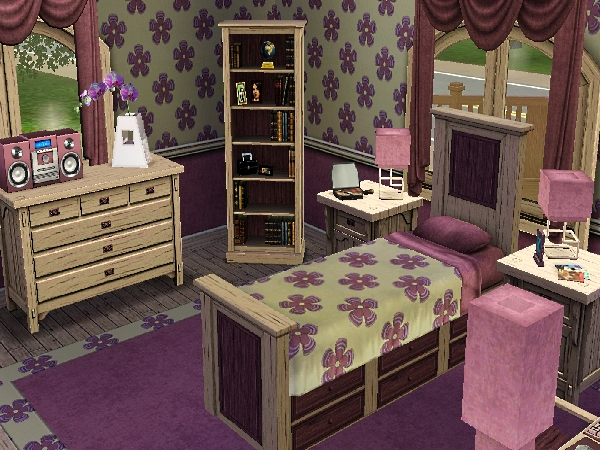 alfa img showing sims 2 pink bedrooms